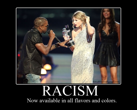 Racism - Now available in all flavors and colors