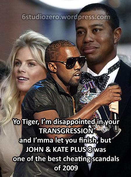 Kanye Interrupts Tiger Woods