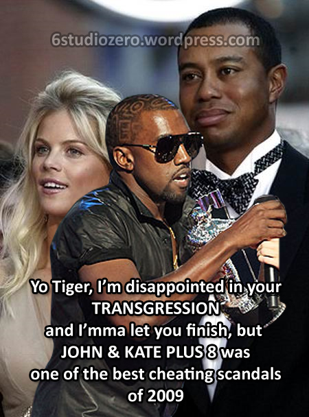 Kanye Interrupts Tiger Woods